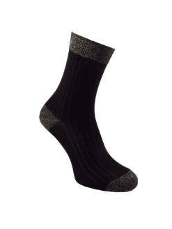 памучни чорапи с лурекс дамски