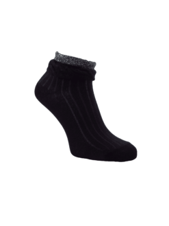 къс конч чорапи с лурекс
