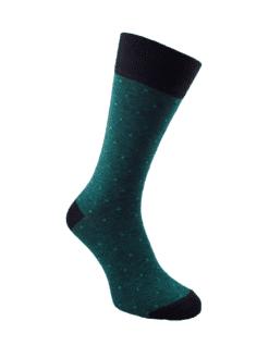 зелени чорапи за мъже луксозни
