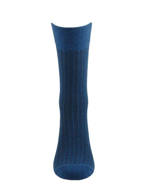 сини луксозни чорапи памук