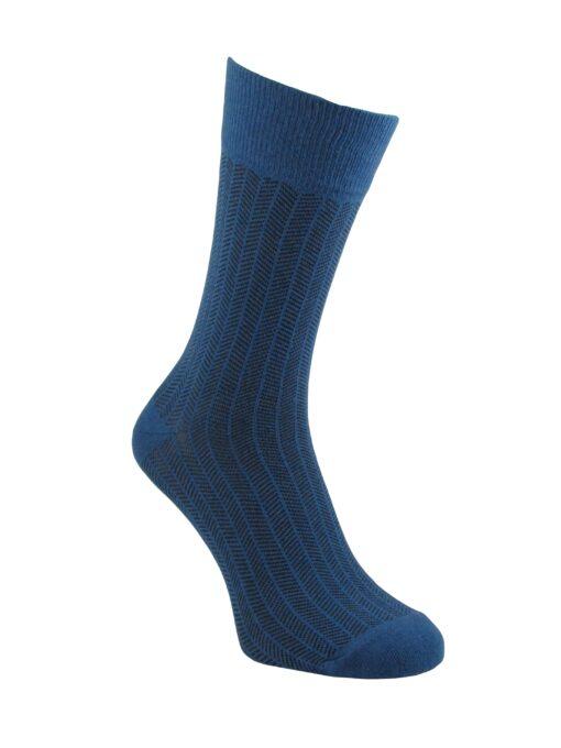 чорапи луксозни сини