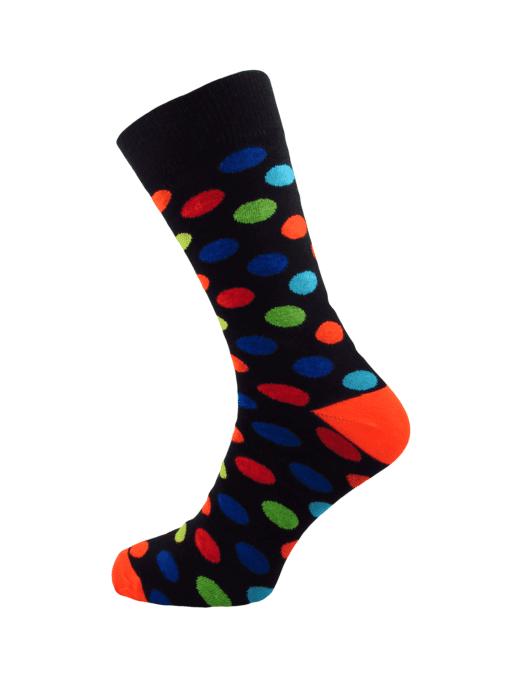 чорапи с цветни точки