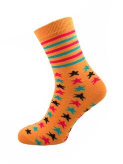 дамкси цветни звезди чорапи евър сокс