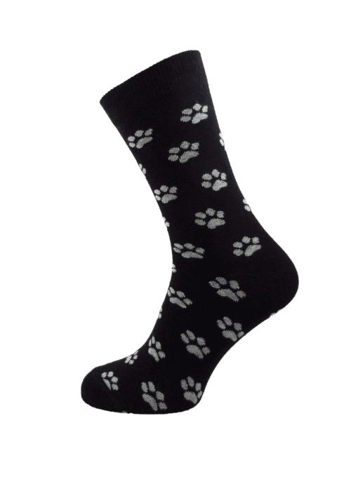 дамски черни чорапи лапичка
