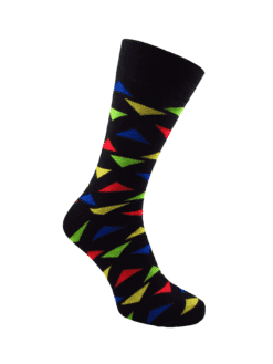 цветни чорапи с фигурки за мъже