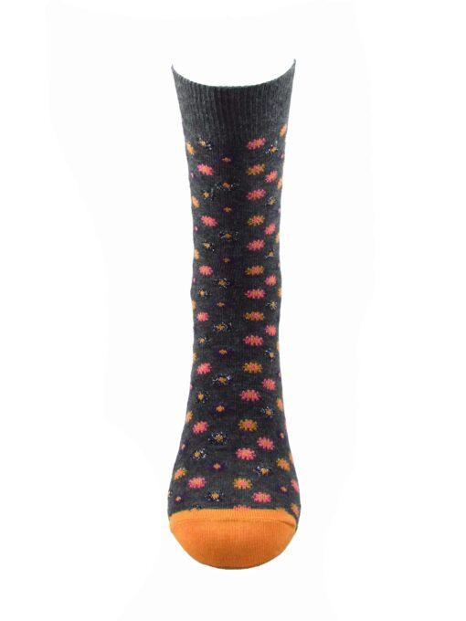 сив чорап цвете