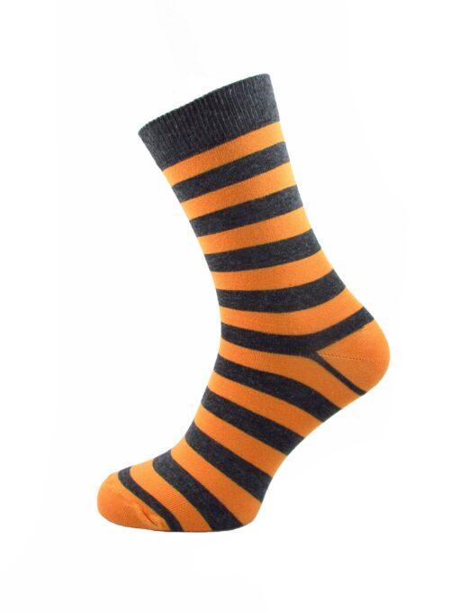 сив рингел чорап