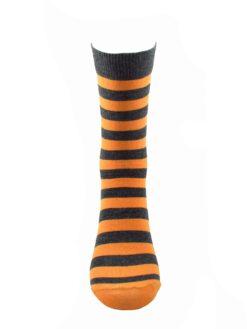 сив чорап оранжево