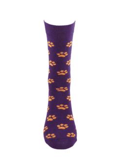 дамски чорапи лапички лила