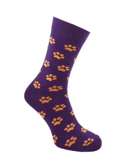дамски чорапи лапичка лила