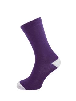 дамски чорап лилав