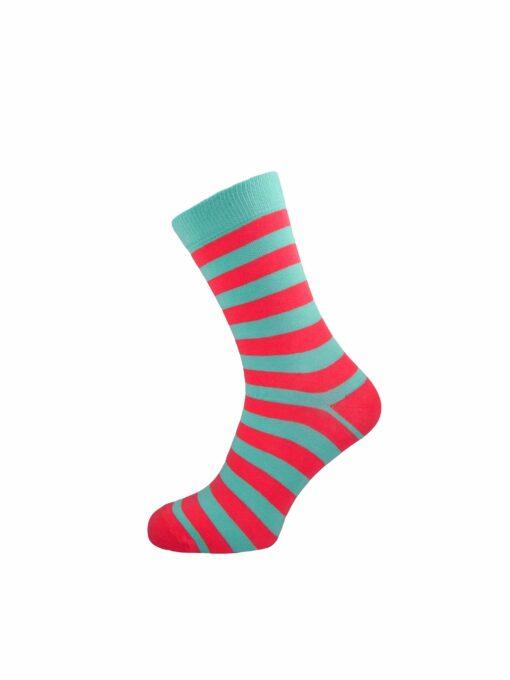дамски рингели чорапи циклама