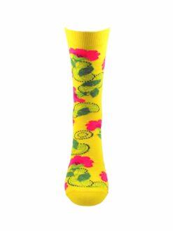 жълт чорап цвете