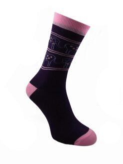 дамски слончета чорапи лила