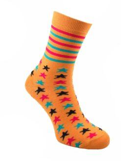 дамкси цветни звезди чорапи