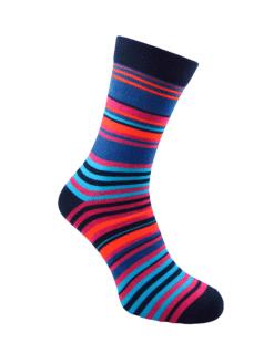 тъмно райе мъжки чорапи