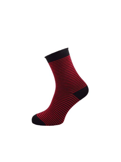 дамски чорапи без ластик червени