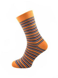 оранжеви чорапи рингел евър сокс