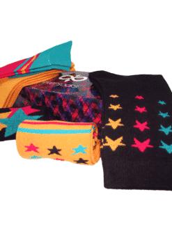 5 чифта дамски чорапи кутия