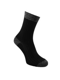 дамски луксозни чорапи сребро
