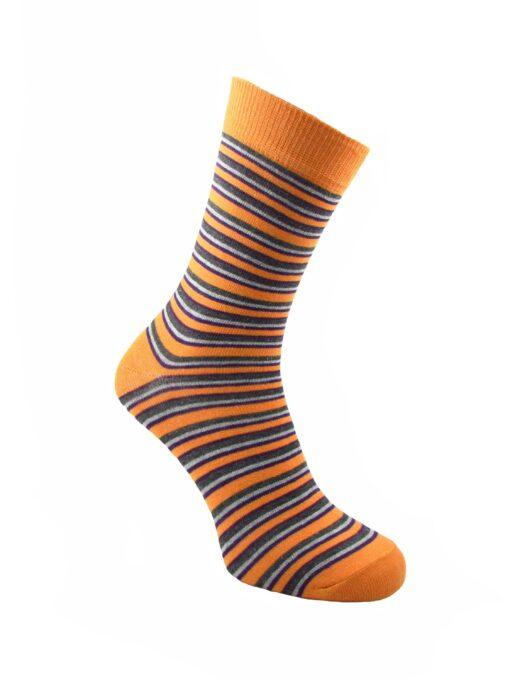 оранжеви чорапи рингел