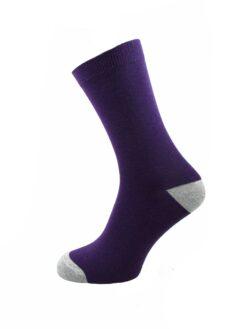 лилав чорап дамски евър сокс