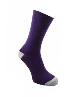 лилав чорап дамски
