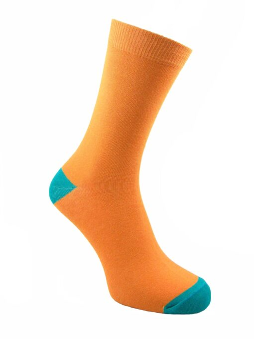 дамски оранж чорапи