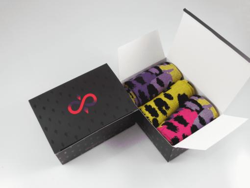 кутия дизайнерски чорапи за мъже
