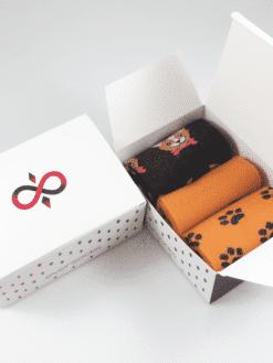 дамски чорапи кученца в кутия