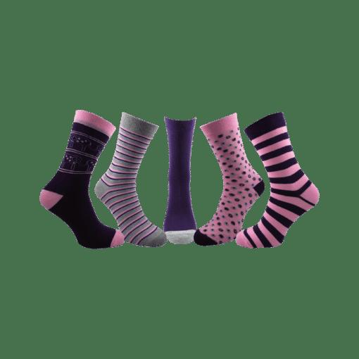5 чифта дамски чорапи