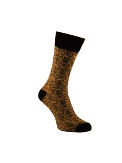 жълти чорапи лукс