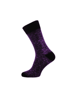 лилави чорапи за мъже