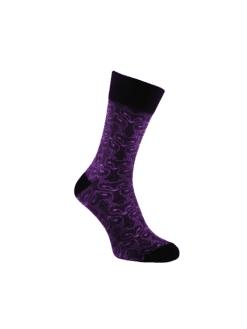 лилави чорапи лисици