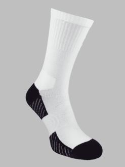 спортни чорапи бели с черно