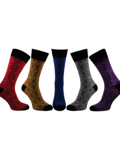 мъжки луксозни чорапи лисици