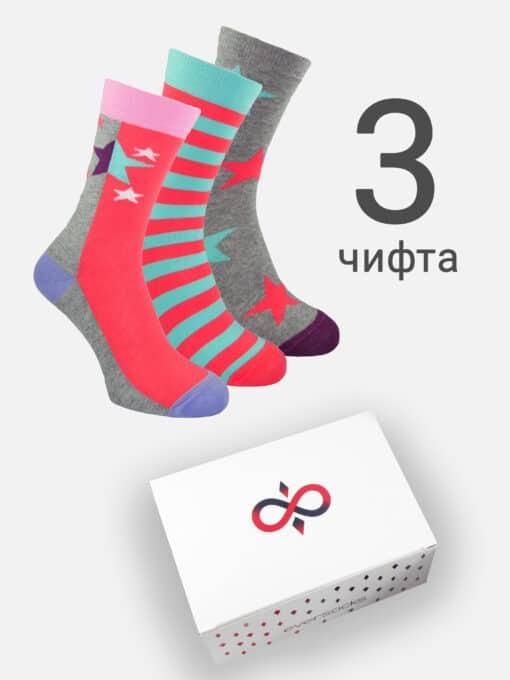 чорапи дамски 3 чифта