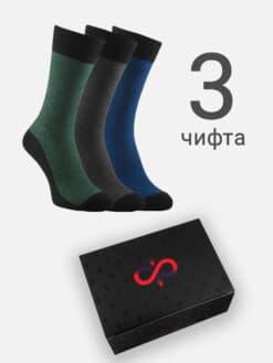 луксозни чорапи в кутия