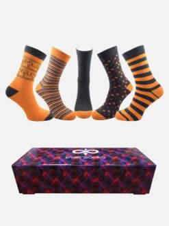 чорапи в кутия оранж