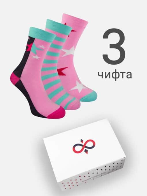 чорапи в кутия 3 чифта