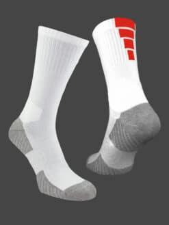спортни чорапи чевено