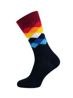 чорапи с ромбове