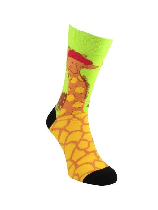 чорапи с жираф