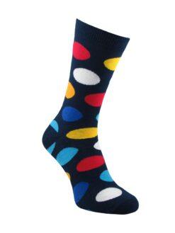 чорапи на цветни точки