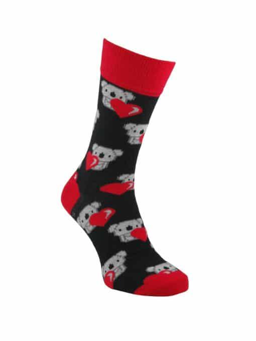 чорапи за свети валентин