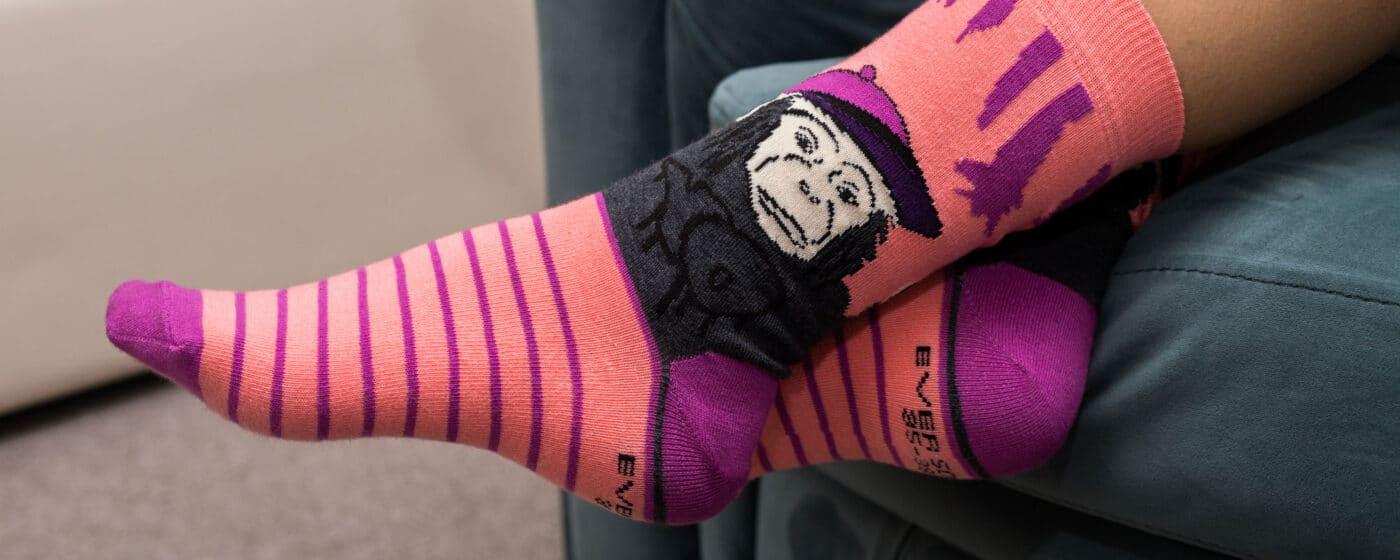 дамски весели чорапи