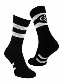 чорапи спорт черни памук