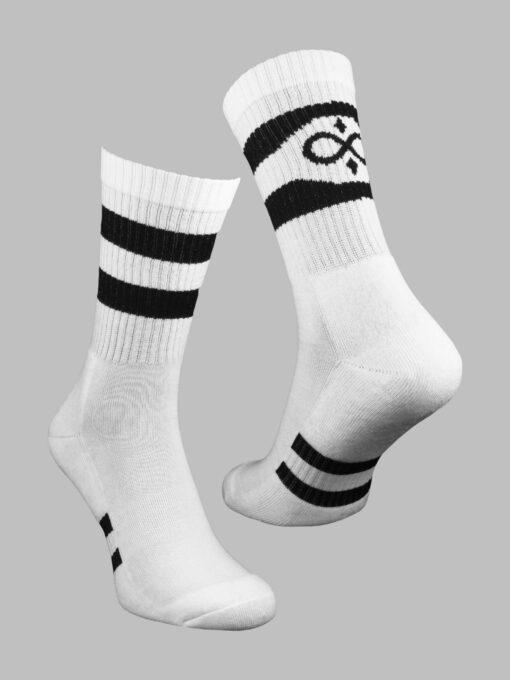 чорапи спорт бели евър сокс