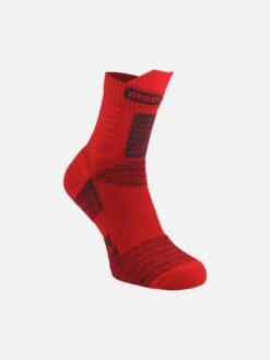 червени фитнес чорапи